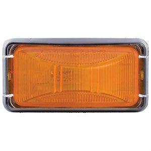LED Trailer Marker Light Kit, Amber, 2.5 x 1.25-In.