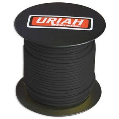 Automotive Wire, Insulation, Black, 14 AWG, 100-Ft. Spool