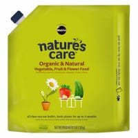 Nature's Care Organic & Natural Vegetables, Fruit & Flower Food, 3-Lbs.
