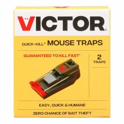 Quick Kill Mouse Trap, 2-Pk.
