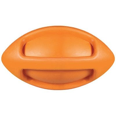 Dog Toy, I-Squeak Funble Football, Medium