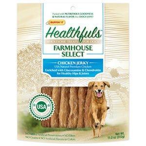 Farmhouse Selects Dog Treats, Chicken Jerky, 11-oz.