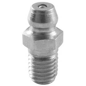 Grease Fitting, 1/4-In - 28 Straight Threaded, 4-Pk.