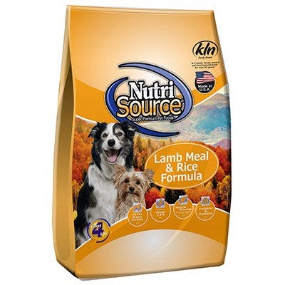 Dog Food, Dry, Adult, Lamb & Rice, 18-Lbs.