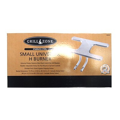Image of Grill H Burner, Stainless Steel, Small