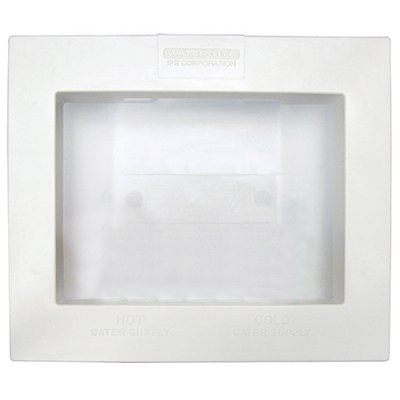 Image of Washing Machine Outlet Box, Dual-Drain
