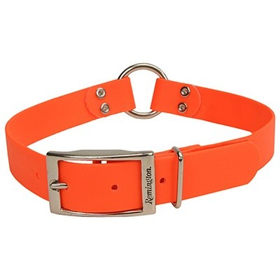 Image of Dog Collar, waterproof, Orange, 1 x 22-in