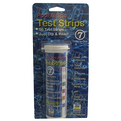 Image of Pool Test Strips, 7-Factor, 50-Ct.