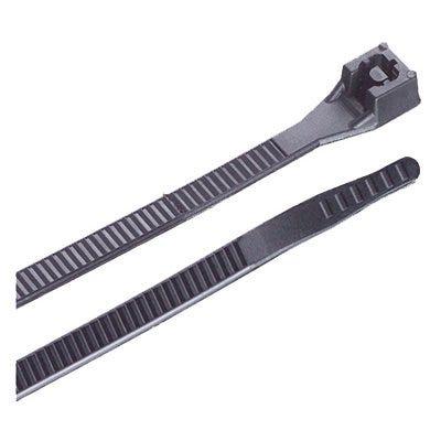 Extreme-Temperature Tie, Black, 8-In., 100-Pk.