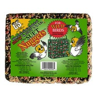 Fruit & Nut Bird Food Snak With Suet Nuggets, 2-1/4-Lb.