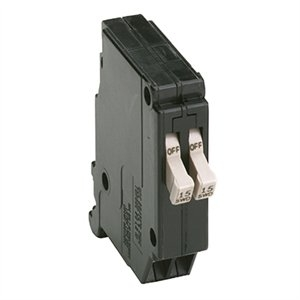 Image of Twin Circuit Breaker, Single Pole, 15-Amp