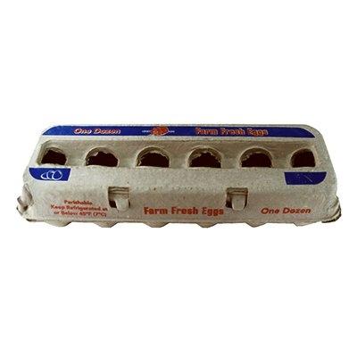 Image of Egg Carton, Paper, Holds 1 Dozen