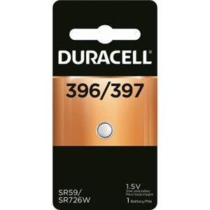 Watch Battery, #396/397, Silver Oxide, 1.5-Volt