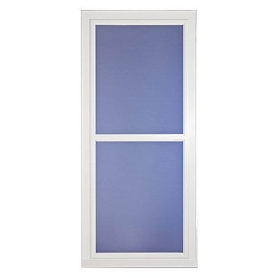 Easy Vent Selection Storm Door, Full-View Glass, White, 36 x 81-In.