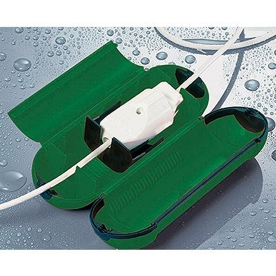 Image of Extension Cord Safety Seal Lock, Green