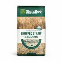 Forage, Chopped Straw, 25-Lb. Bag