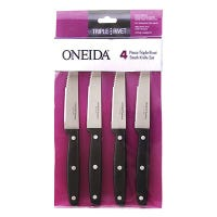 Steak Knives, Triple Rivets, 4-Pc. Set
