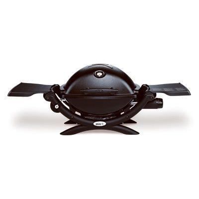Q-1200 Portable Gas Grill, 8500 BTU, Black