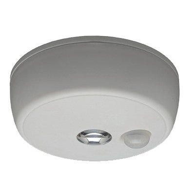 LED Motion-Sensing Ceiling Light, Wireless, 100 Lumens