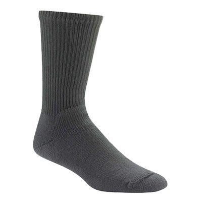 At Work King Cotton Crew Sock Black, XL