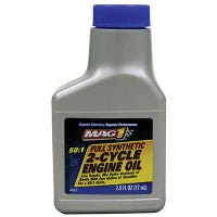 Engine Oil, 2-Cycle Full Synthetic, 2.6-oz.