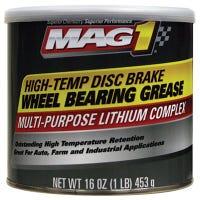 Disc Brake Wheel Bearing Grease, High-Temp Formula, 1-Lb.