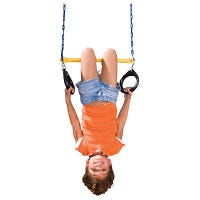 Ring & Trapeze Combo for Swing Set