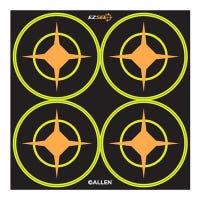 EZ See Aiming Dots, Adhesive, Black, 3-In., 12-Sheets