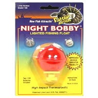 Fishing Float, Small Red Night Bobby