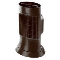Ceramic Compact Tower Heater, Digital, Black Cool-Touch Housing