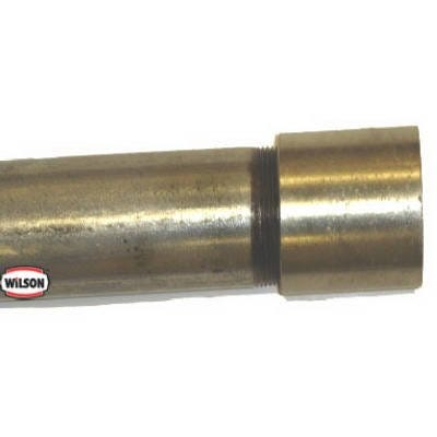 .75-In. x 21-Ft. Galvanized Steel Pipe, Domestic, Threaded