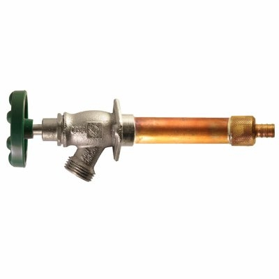 Image of Frost Free Pex Anti-Siphon Hydrant With Vacuum Breaker, Lead-Free, 10-In.