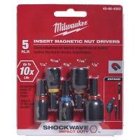 Shockwave Insert Nut Driver Set, 5-Pc.
