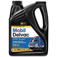 Delvac 1300 15W-40 Super Diesel Engine Oil, Extra High, 1-Gallon