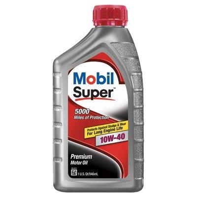 Super Motor Oil, 10W-40, Qt.