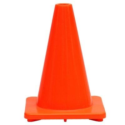 Image of Traffic Cone, Orange PVC, 12-In.