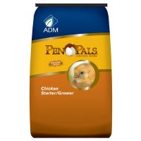 Pen Pals Chicken Starter Grower, Non-Medicated, Crumble, 25-Lbs.
