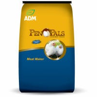 Pen Pals Chicken Feed, Meat Maker, Non-Medicated, Crumble, 50-Lbs.