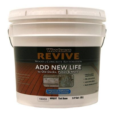 Revive Wood & Conrete Restoration, Tint Base, 3.5-Gallons