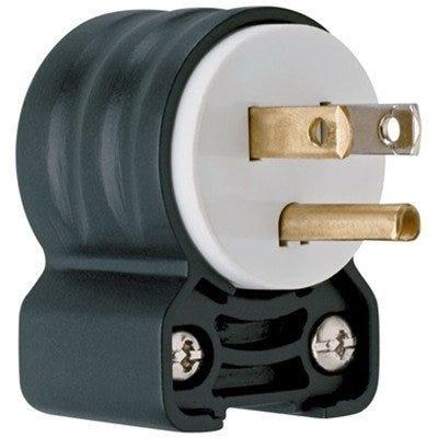 Blade Angle Plug, 125-Volt, 15-Amp