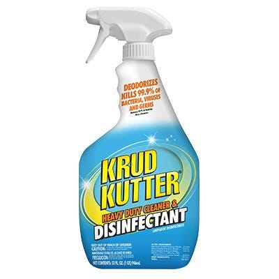 Heavy Duty Cleaner/Disinfectant, 32-oz.