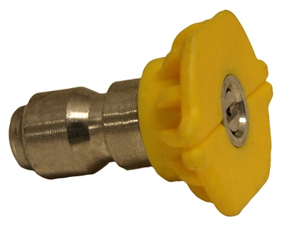 Image of Pressure Washer Spray Tip, 15-Degree, Yellow