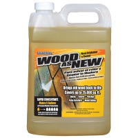 Wood As New Wood Brightener & Cleaner, 1-Gallons