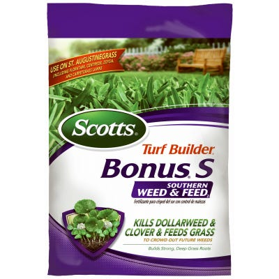 Turf Builder Bonus S Southern Weed & Feed Fertilizer, 10,000 Sq. Ft. Coverage