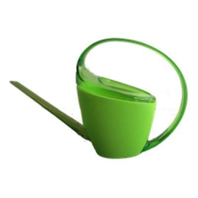 Watering Can, Loop Handle, Green Plastic, 47-oz.
