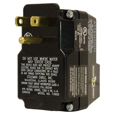 Image of Portable GFCI Plug/Outlet