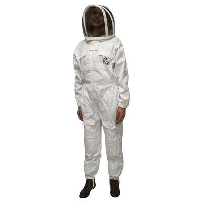 Beekeeping Suit, Cotton & Polyester, Small