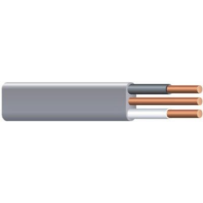 10/2 Underground Feeder Cable With Ground, 100-Ft.