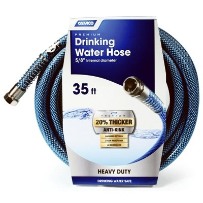 Image of Premium Drinking Water Hose, 5/8-In. x 35-Ft.