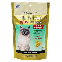 Cat Treats, Hip & Joint Plus Soft Chew, 50-Ct.